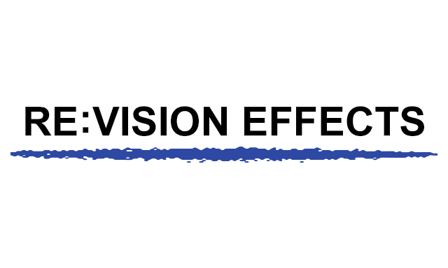 RE:Vision Effects plug-ins in HitFilm