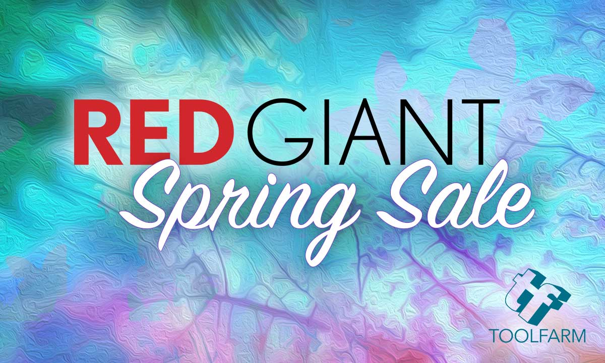 Sale: Red Giant Flash Sale is On Now - 25% Off All Products - 24 Hours Only