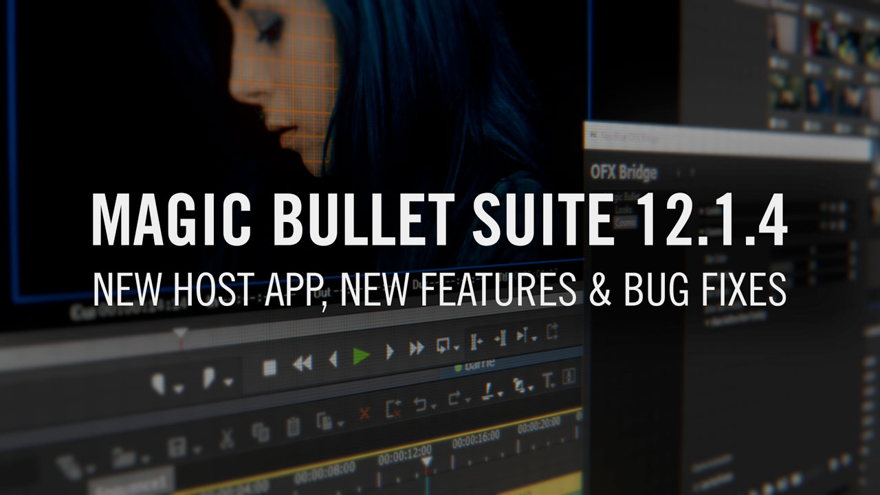 Update: Red Giant Magic Bullet Suite 12.1.4 Maintenance Update