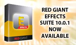 Red Giant Effects Suite 10.0.1 Goes Live!