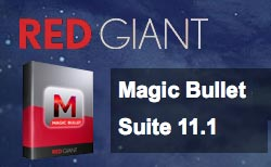Update: Red Giant Magic Bullet Suite 11.1 Now Available