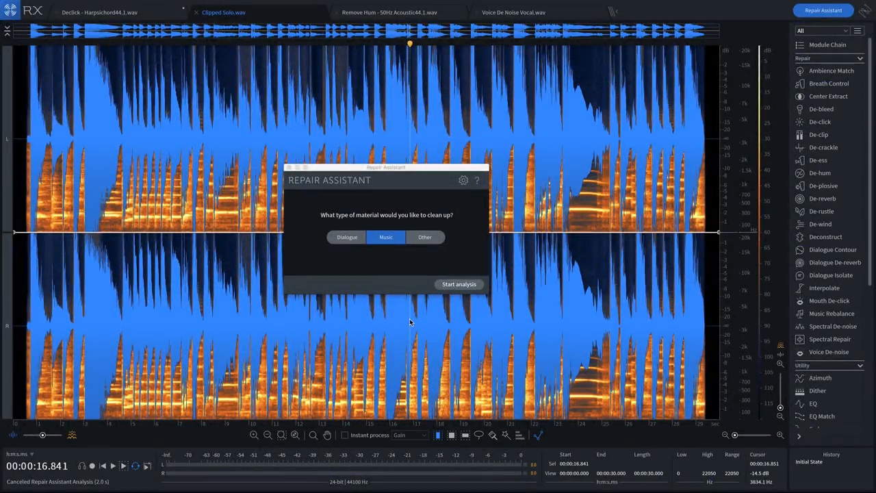 Using iZotope RX 7 for Music