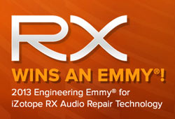 News: iZotope RX 3 Wins an Emmy!