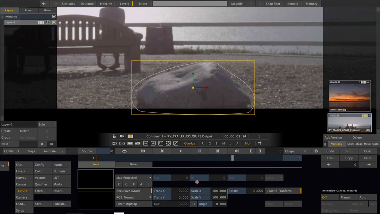 Compositing with ASSIMILATE SCRATCH