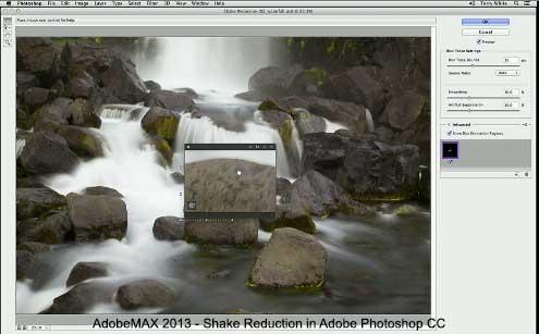 Photoshop CC Shake Reduction