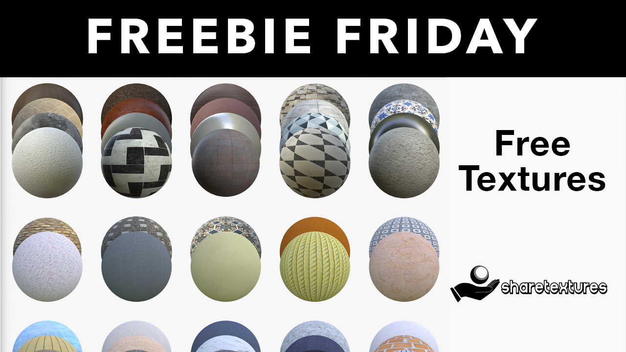 Freebie: 4K Texture Sets from Share Textures