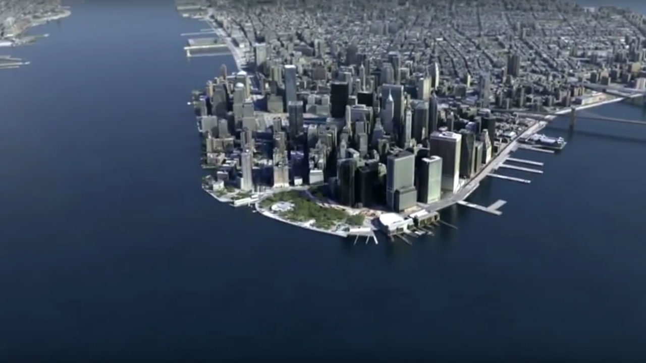 Fixing 3ds Max model of NYC – SiNi Software