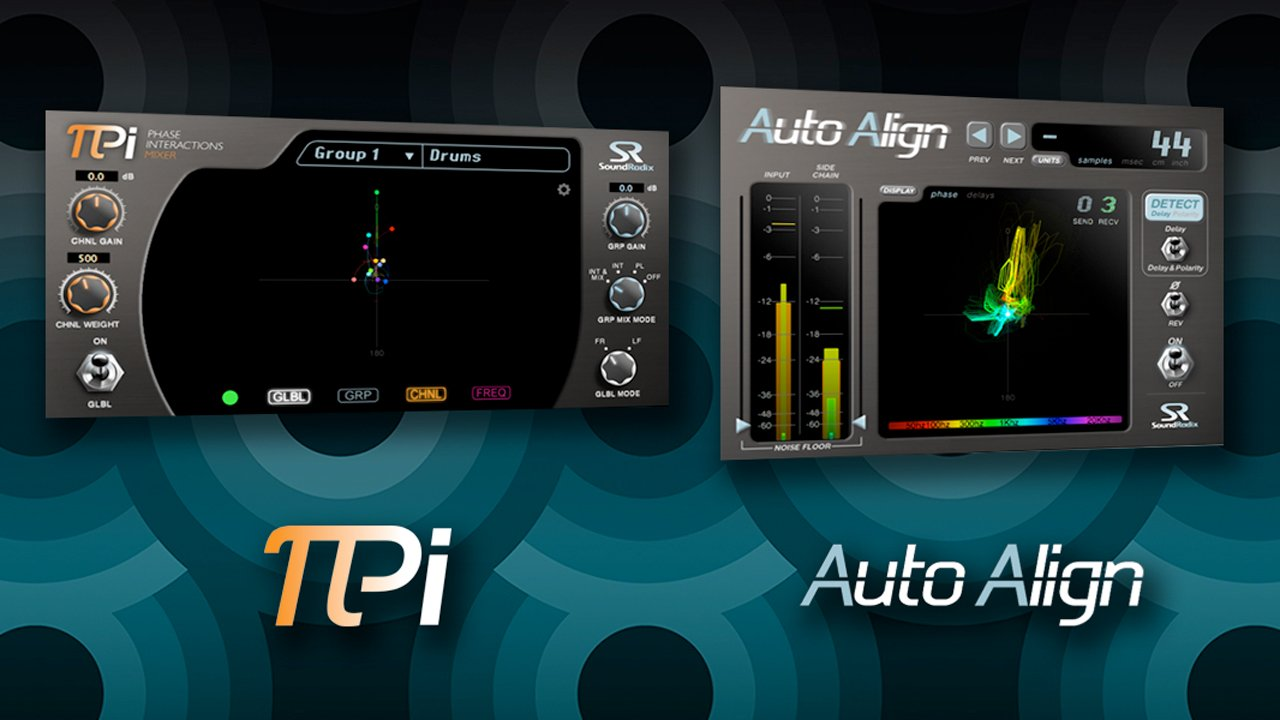 Updates: Sound Radix Auto-Align  v1.6 and PI v1.1 – Now with iLok Support