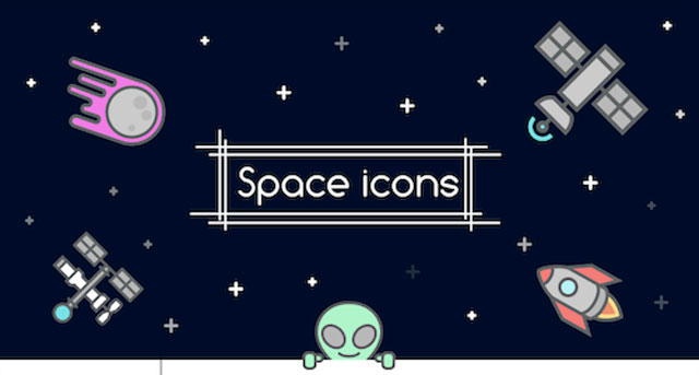 Freebie: Space Icons