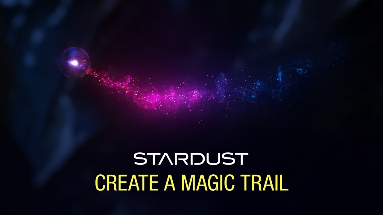 Create a Magical Particle Trail with Stardust