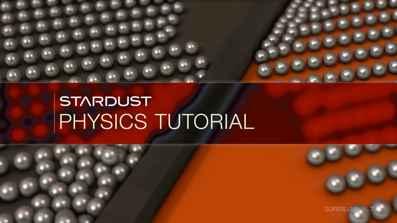 After Effects: Stardust Physics Tutorial