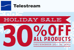 Sale: 30% off Telestream Products!