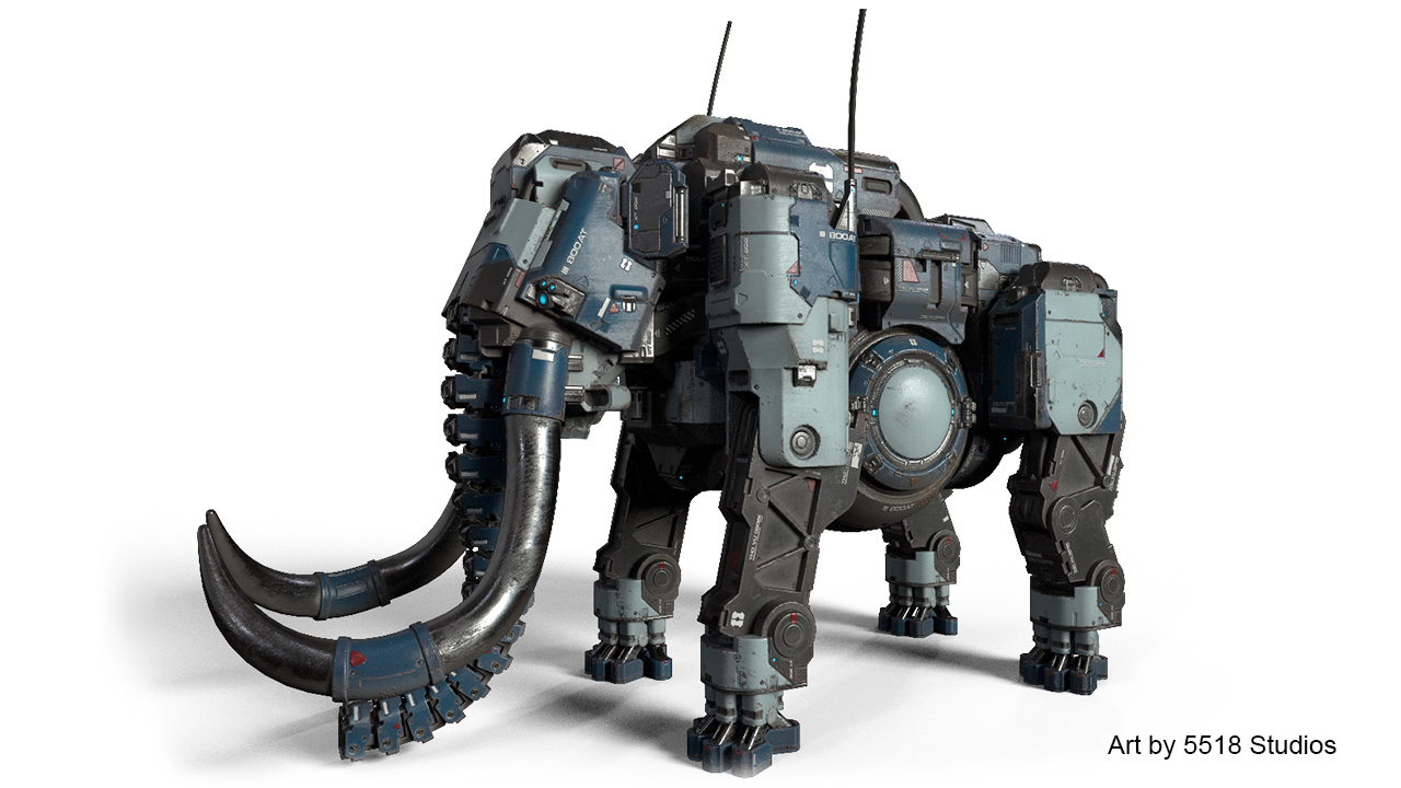 substance designer elephant