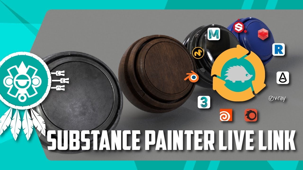 News: Substance Painter Live Link (3ds Max, Maya, MODO, Blender)