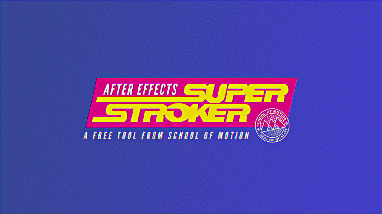 Freebie: Super Stroker Preset for After Effects – Complex Stroke Effects