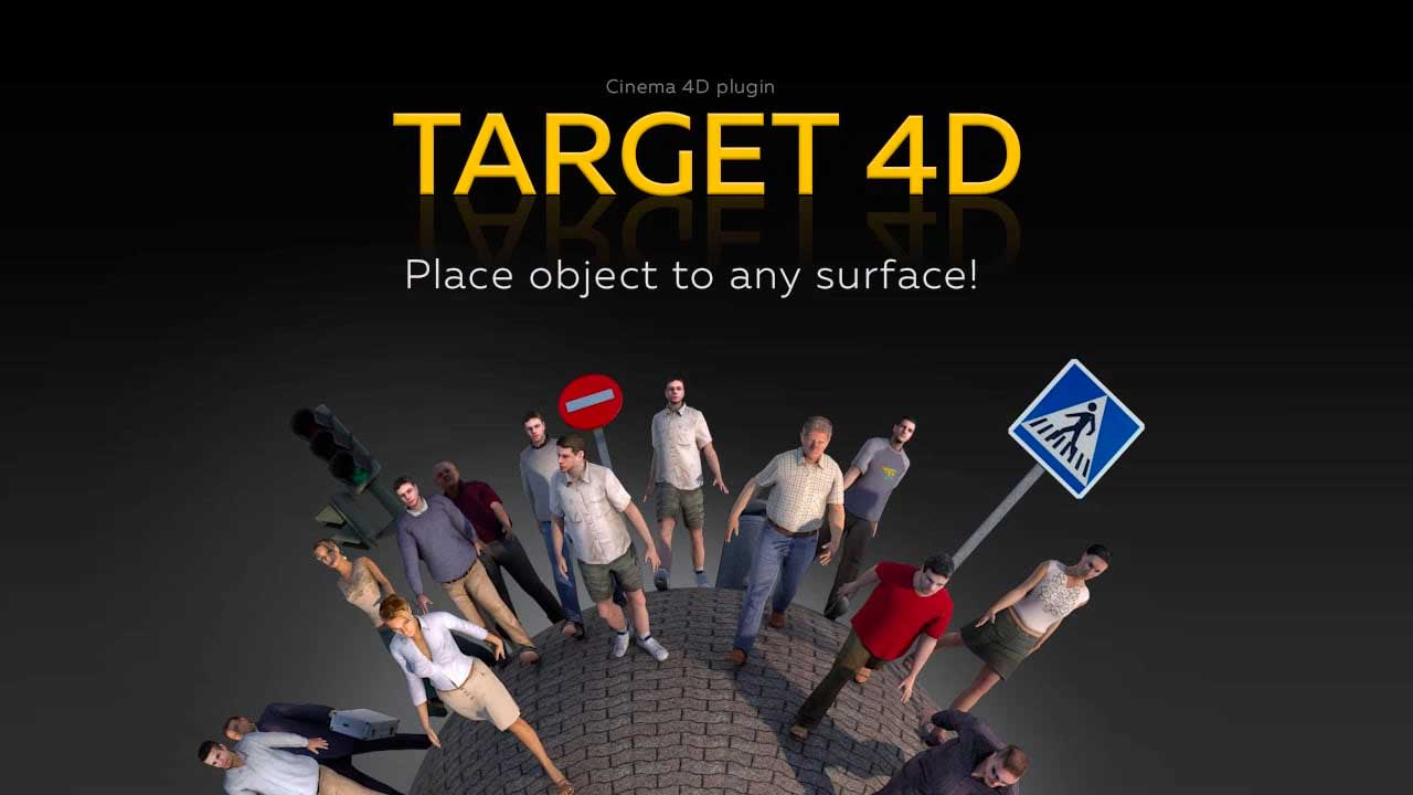 Update: Mike Udin Target 4D v1.3 for Cinema 4D Available