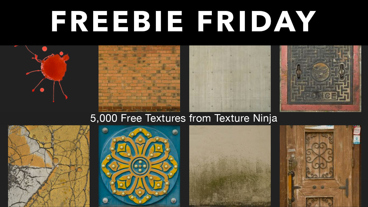 Freebie: 5,000 Free Texture Images from Texture Ninja