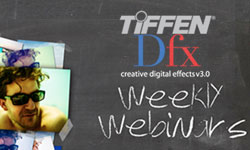 Webinar: Tiffen Dfx 3 Imaging Software today at 1pm EST