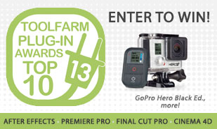 The Results are In! The 2013 Toolfarm Top Ten Plug-in Awards