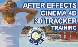 New: Toolfarm University After Effects and CINEMA 4D - 3D Tracker Training