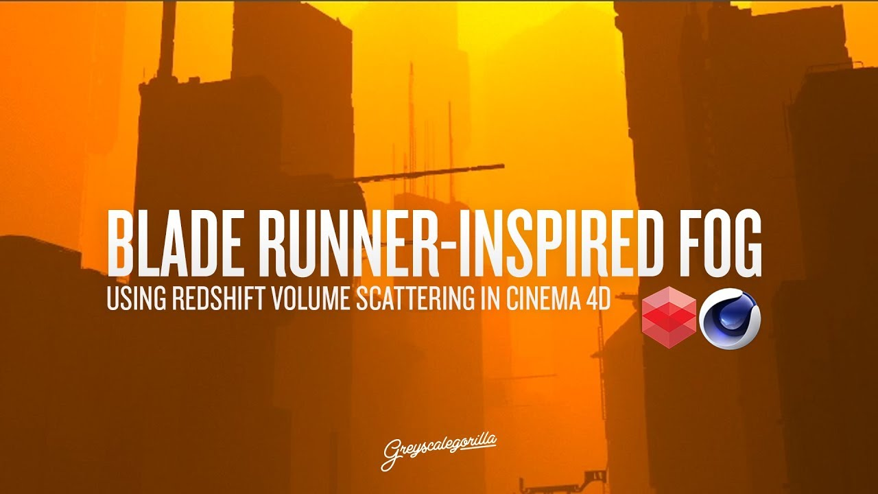 Create Blade Runner Inspired Fog with Redshift for Cinema 4D