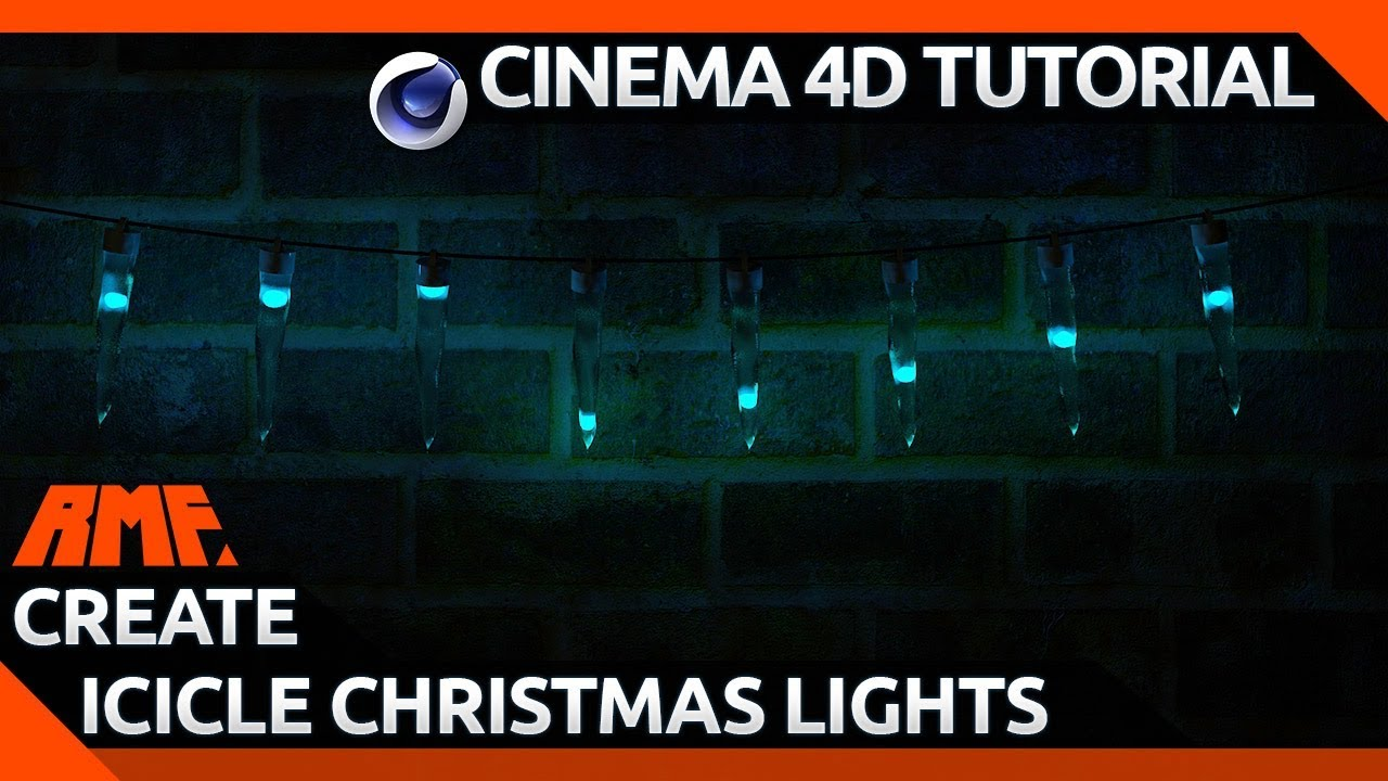 Creating Animated Icicle Christmas Lights Tutorial