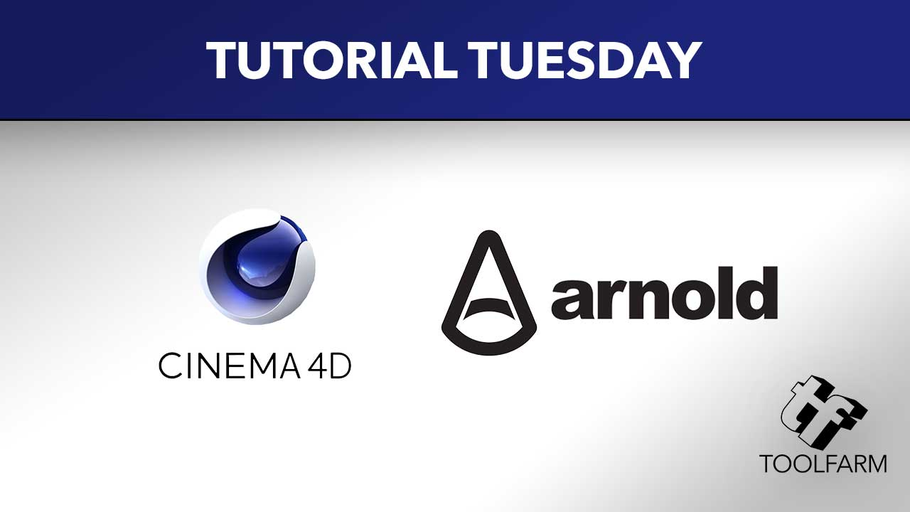 Maxon Cinema 4D and Arnold Render Tutorials for Shaders