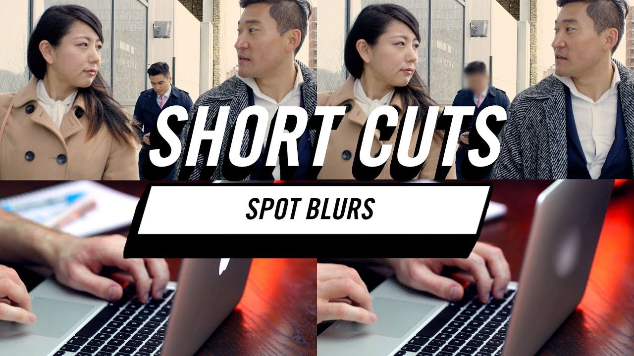 Red Giant Short Cuts: Spot Blurs