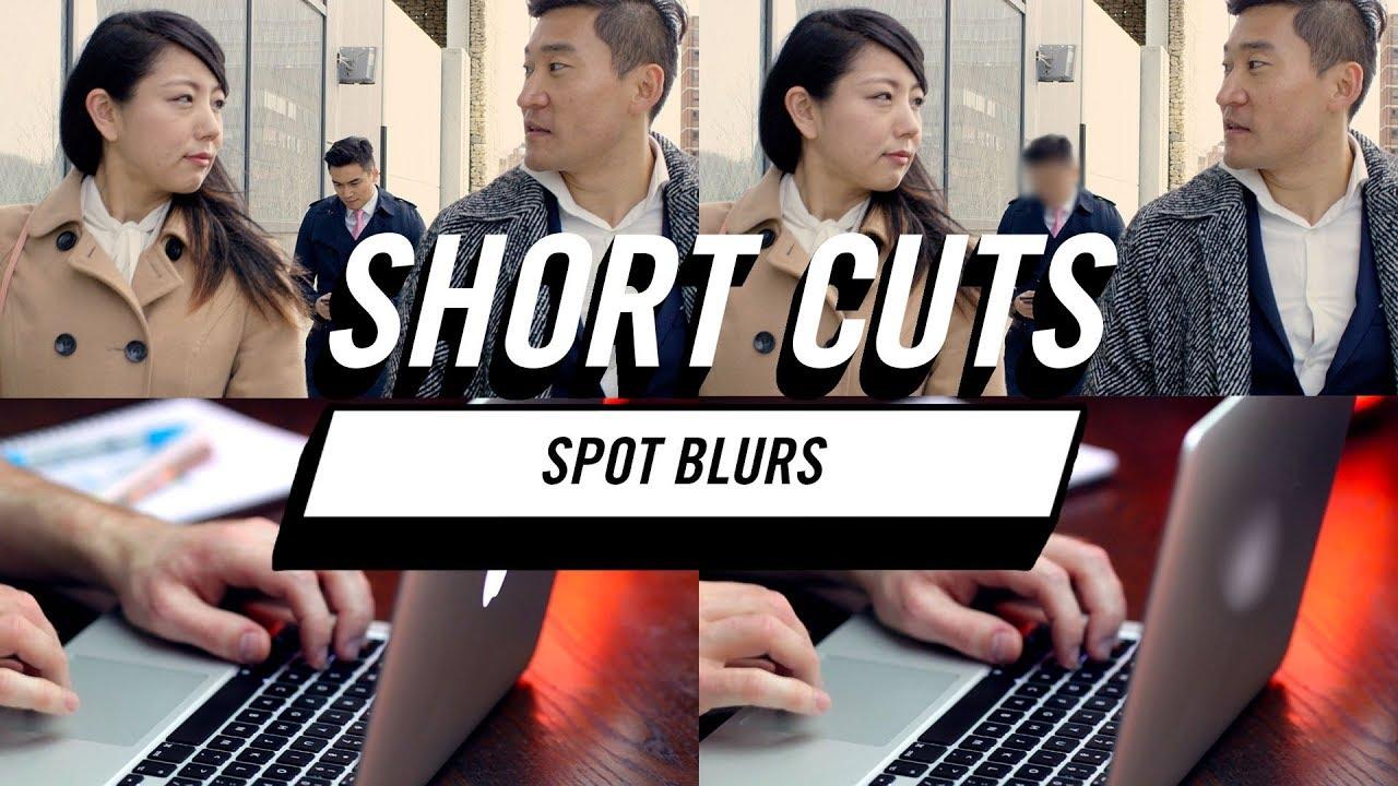 Red Giant Short Cuts: Spot Blurs