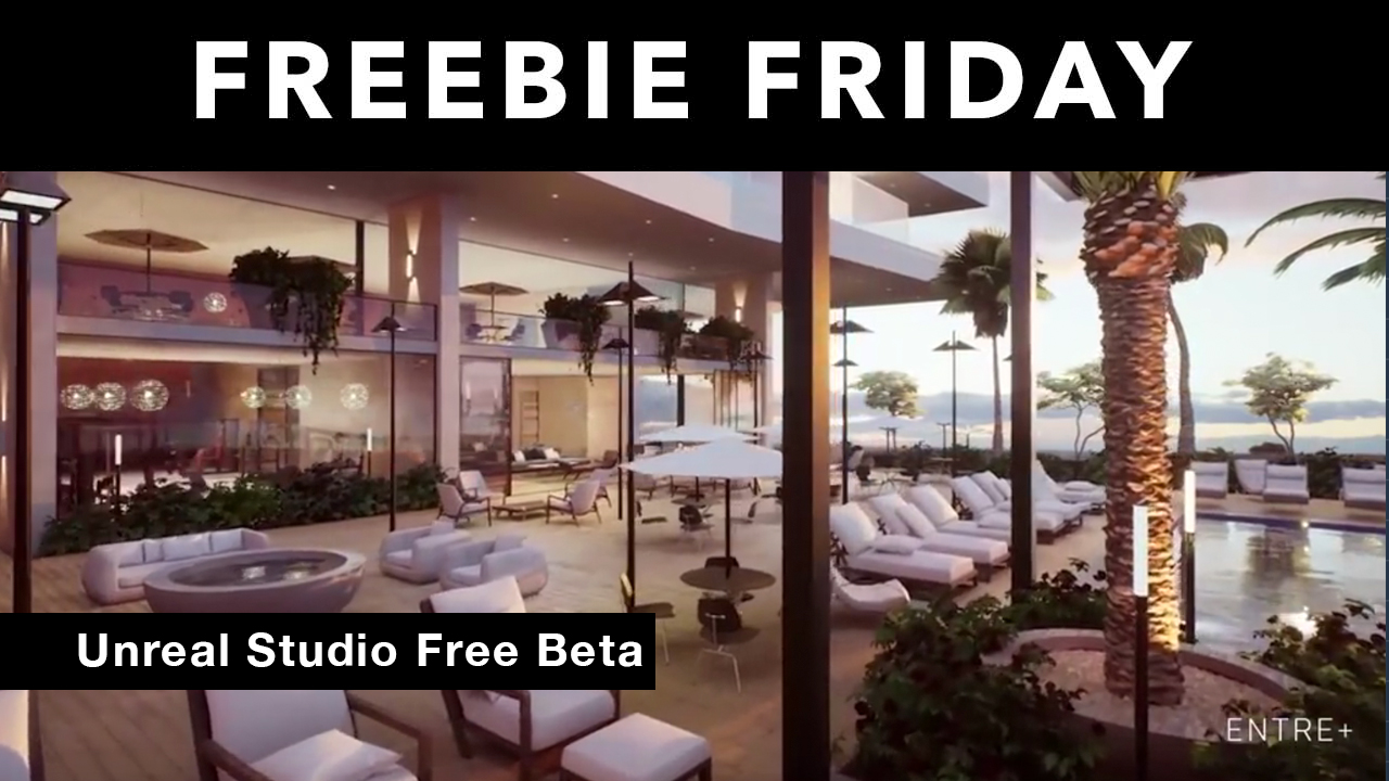 Freebie: Unreal Studio Beta – 100% Royalty Free License
