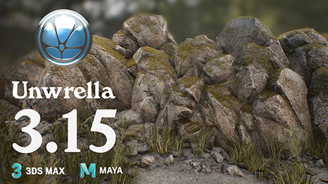 Update: 3d-io Unwrella for Maya v3.15 – Adds Support for Maya 2018