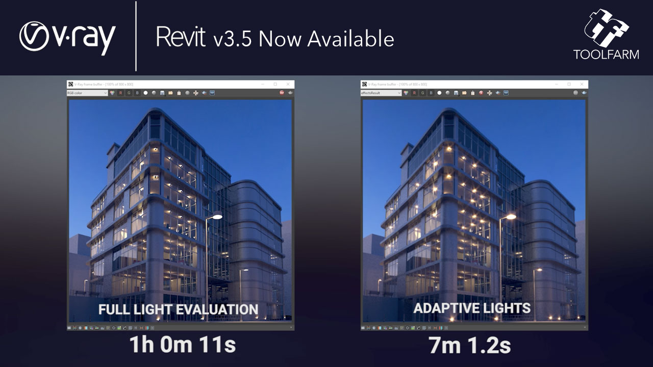 Update: Chaos Group V-Ray for Revit is Now Available