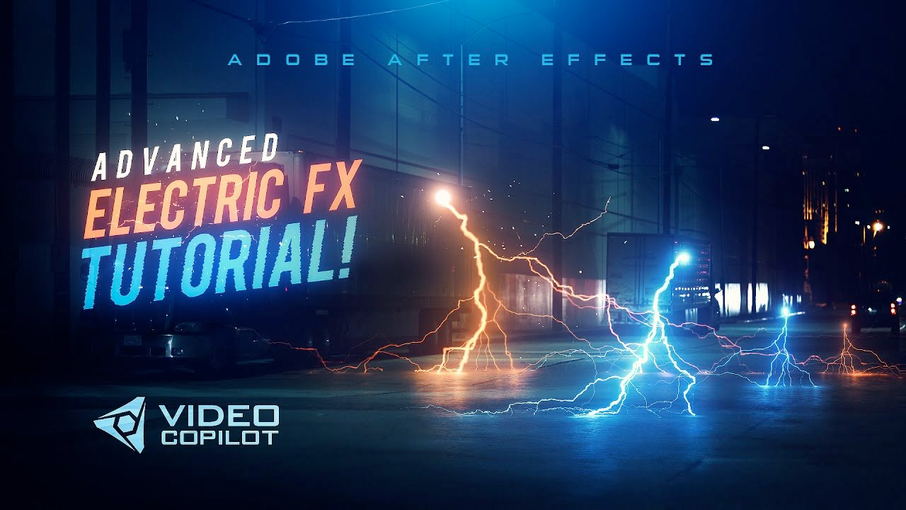 Video Copilot Electricity Tutorial for Adobe After Effects