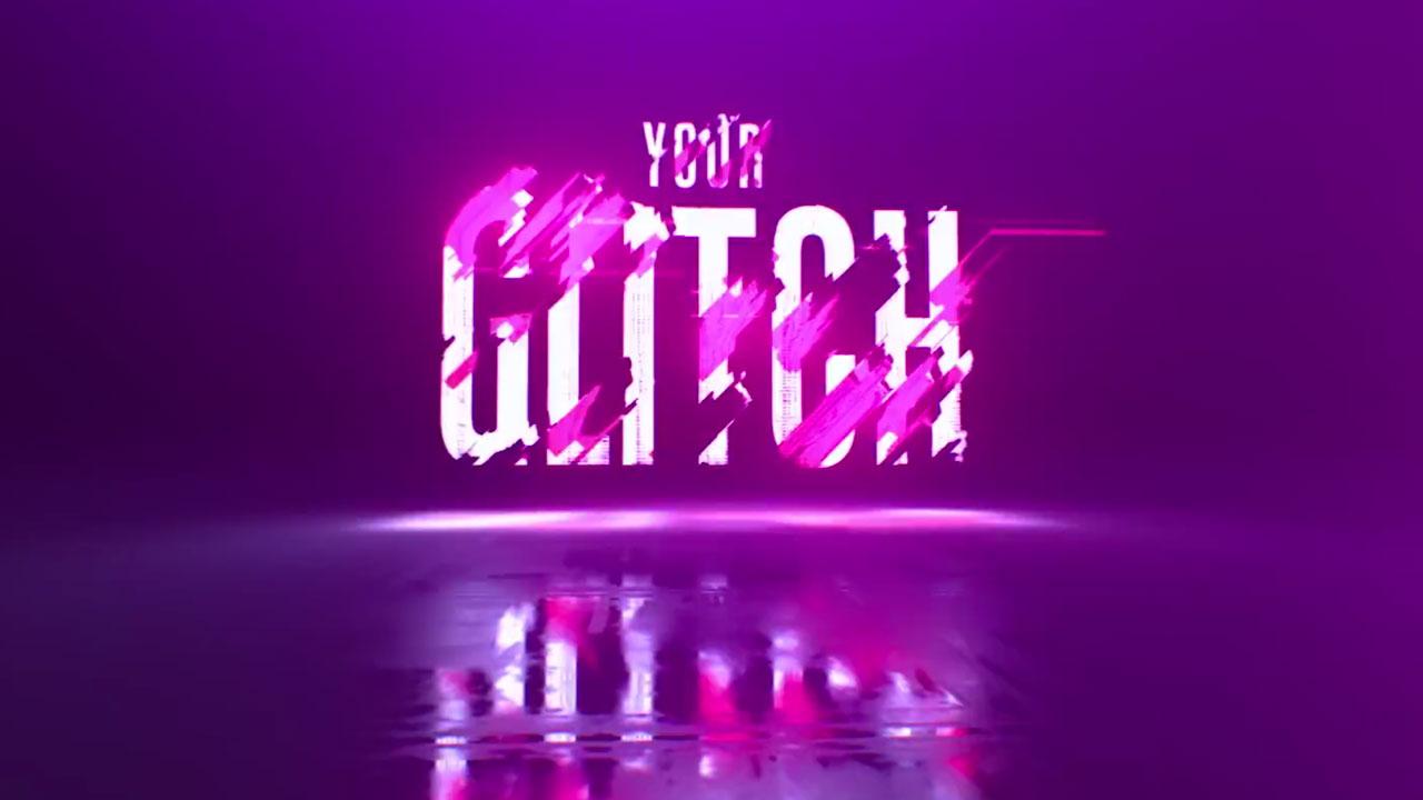 Colorful Glitch FX! 100% AE! from Video Copilot