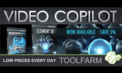 Interview with Video Copilot on Element Launch Day with Michele Yamazaki of Toolfarm