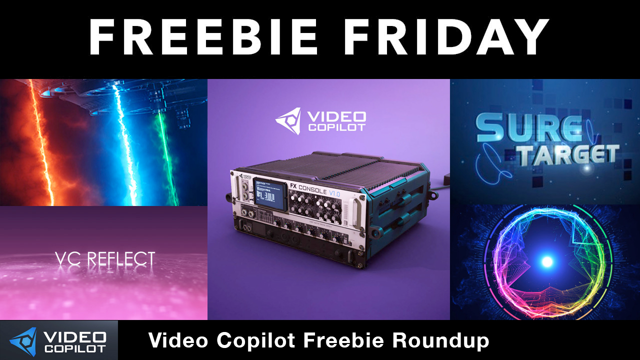 Freebies: Video Copilot FreeAfter Effects Plug-ins & Templates Roundup