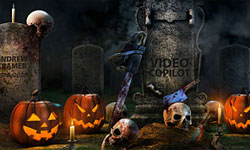 Freebie: Free Halloween 3D Model Pack from Video Copilot- Element 3D-Ready