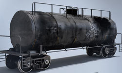 Freebies: Free Destroyed 3D Tanker Model from Video Copilot- Element-Ready