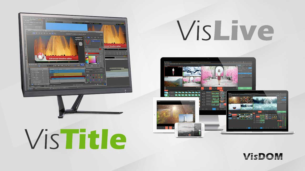 New: VisDOM VisLive & VisTitle are Now Available at Toolfarm – Intro Special, 50% Off