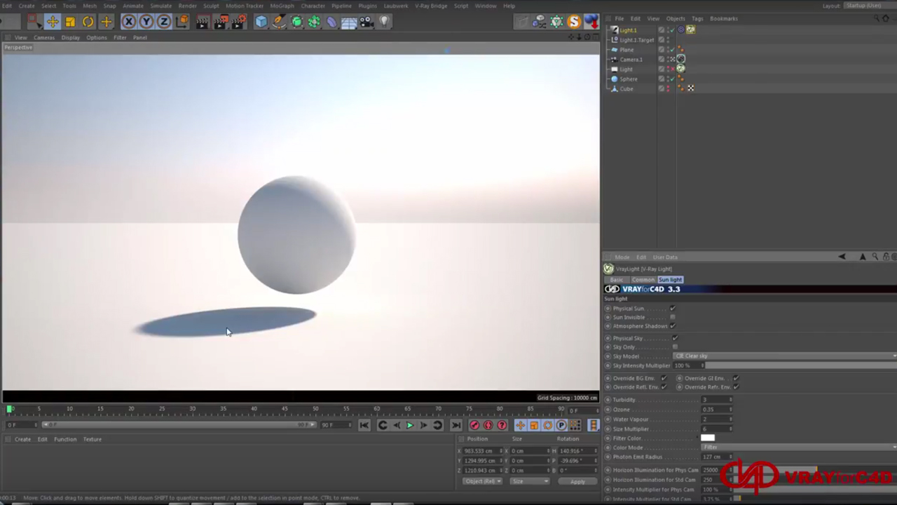 A Beginners Guide to VRAYforC4D