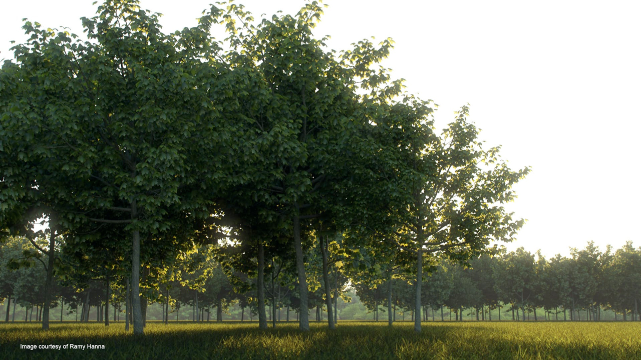 V-Ray for 3ds Max – Portraying Leaves