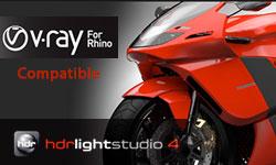 New / Update: Lightmap HDR Light Studio 4.3 Update, New HDR Light Studio 4 for V-Ray for Rhino