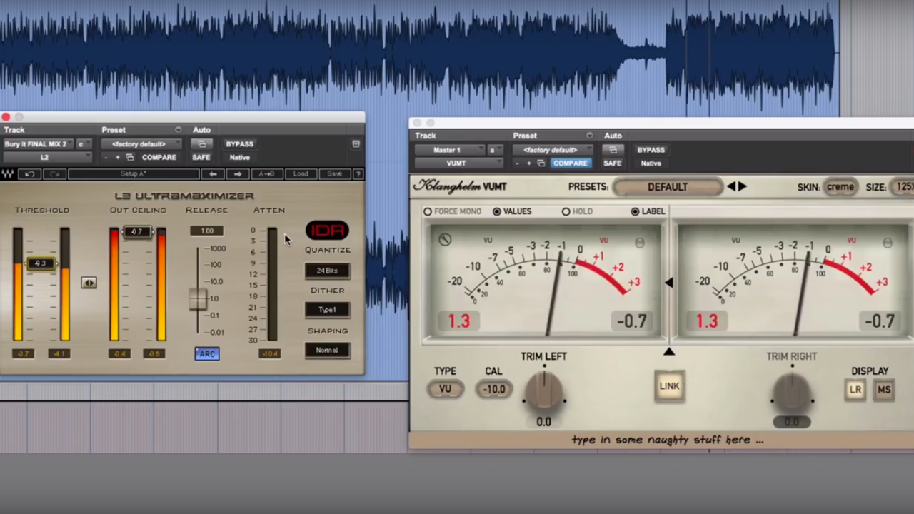 Waves: Audio Mastering for the Internet