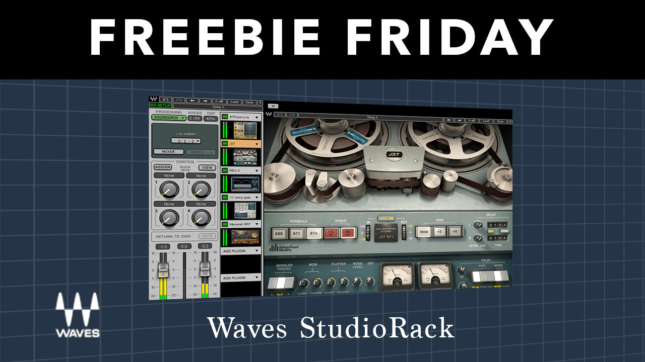 Freebie: Waves StudioRack – Free Plug-in