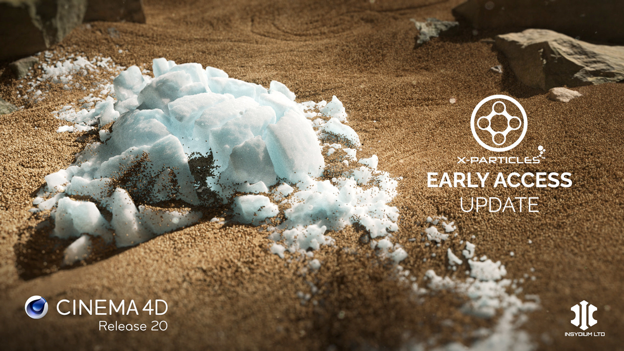 Beta: INSYDIUM X-Particles R20 Compatible Early Access Release