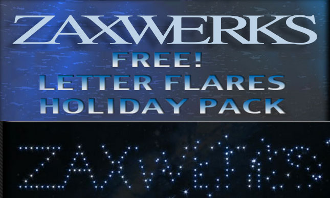 Holiday Flares Freebie from Zaxwerks