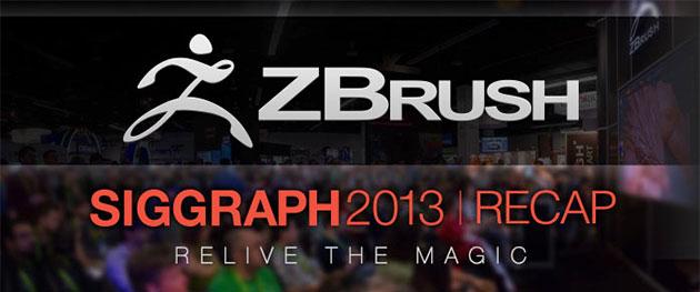 zbrush siggraph 2013 recap videos