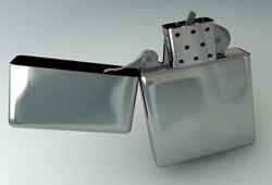 Freebie: Zippo Lighter Model