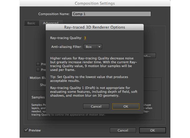 render options
