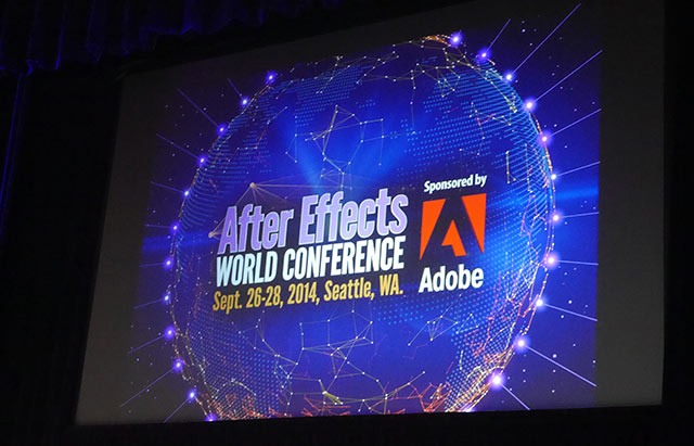 After Effects World Conference Travelogue